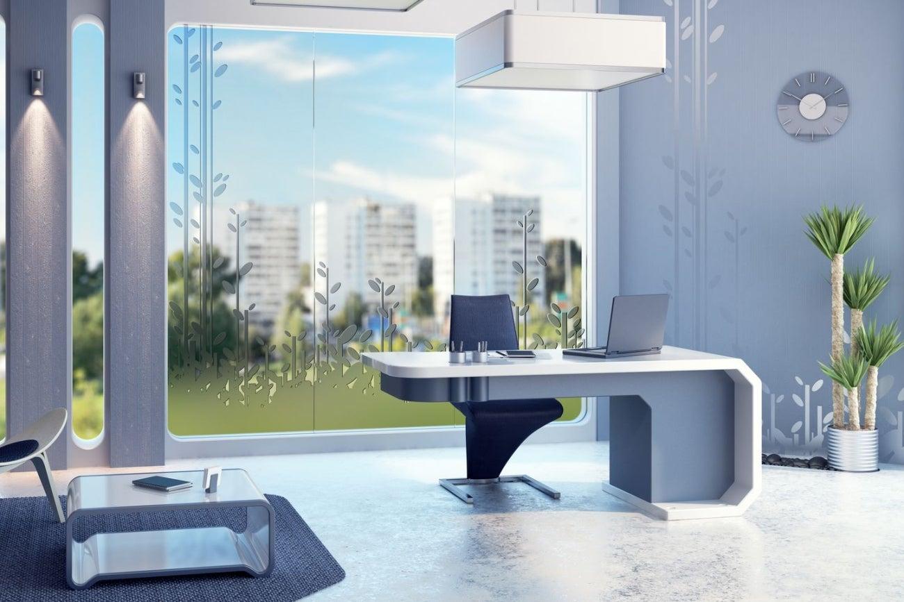 Los mejores trucos para tener una oficina moderna for Como decorar una oficina moderna