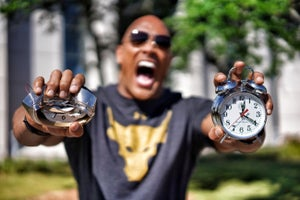 The Rock Releases an Alarm Clock to Get Jabronies Like You Out of Bed