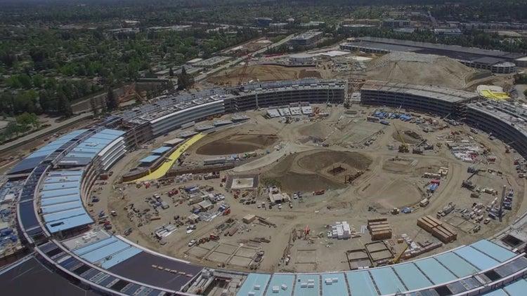 Check Out The Latest Drone Images Of Apples Spaceship Campus Start Up Your Day Roundup