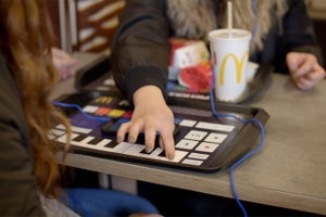 Netherlands McDonald's Wants You to Make Music While Eating
