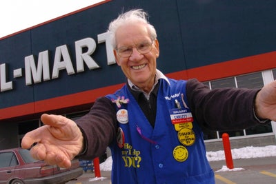 Why Wal-Mart Will Welcome 'Greeters' Back Into Its Stores