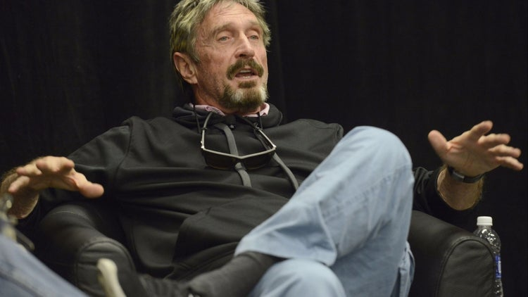 Anti-Virus Software Pioneer John McAfee Named CEO of Investment Firm