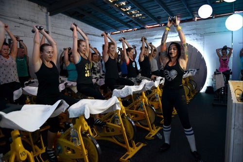 More People Flocking to Fitness Classes Inspired by Ballet, Cycling and Tech