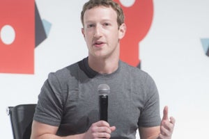 Zuckerberg: Some Tech Is Worrying, but Not Facebook