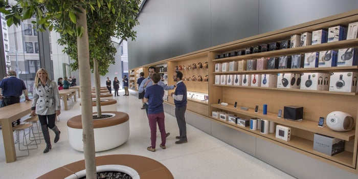 Apple Unveils New Store Design