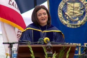 Sheryl Sandberg Commencement Speech, University of California at Berkeley, May 2016 (Transcript)