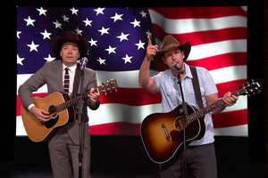 Watch Jimmy Fallon and Adam Sandler's Musical Tribute to Fleet Week