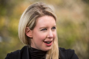 Theranos CEO Elizabeth Holmes' Net Worth Is Now $0, According to Forbes