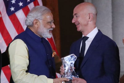 Jeff Bezos Is Adding $3 Billion to Amazon India's Budget -- Start Up Y...