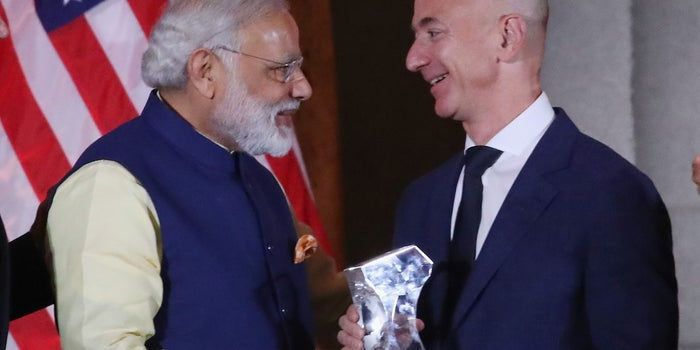 Jeff Bezos Is Adding $3 Billion to Amazon India's Budget -- Start Up Your Day Roundup
