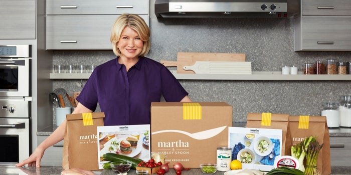 Martha Stewart Has Now Entered the Meal-Delivery Space