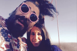 Virtual Reality Video Debut: The Fat Jew Explains Social-Media Empire-Building From a Hot Air Balloon