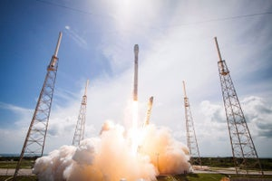 SpaceX Rocket Crashes After Streak of Successful Landings