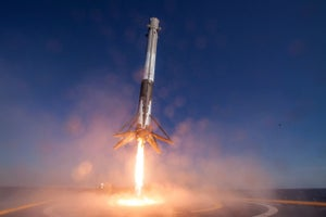 Elon Musk's SpaceX Rocket Crashes During Landing