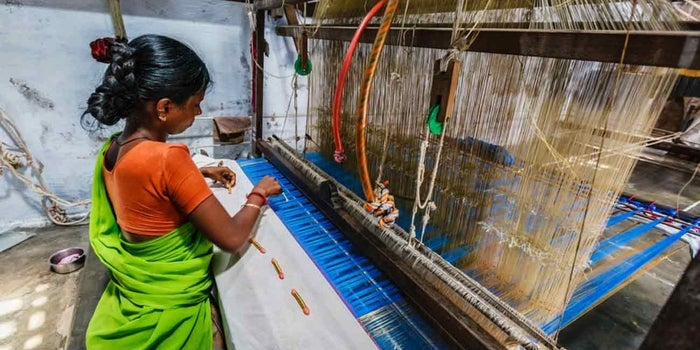 Weaving In Change