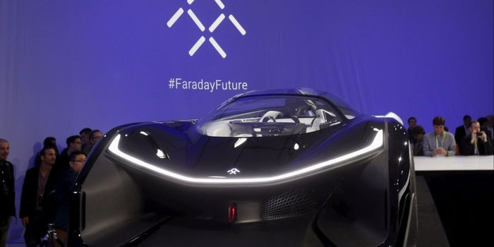 Tesla Rival Faraday Approved to Test Self-Driving Cars on California Roads