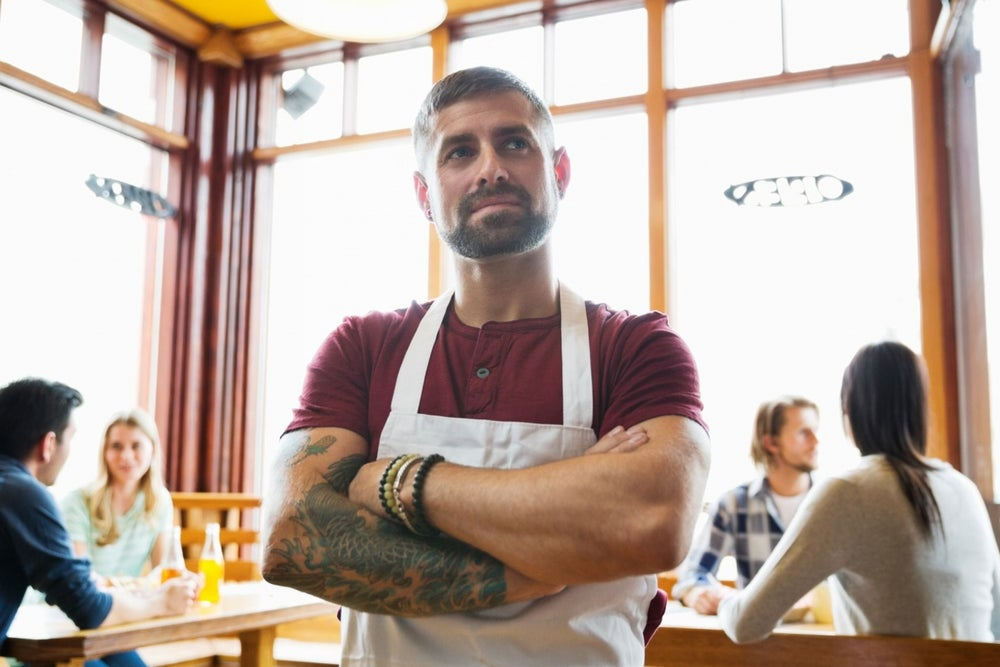 Stock Photos of Entrepreneurs Looking Thoughtfully Into the Distance