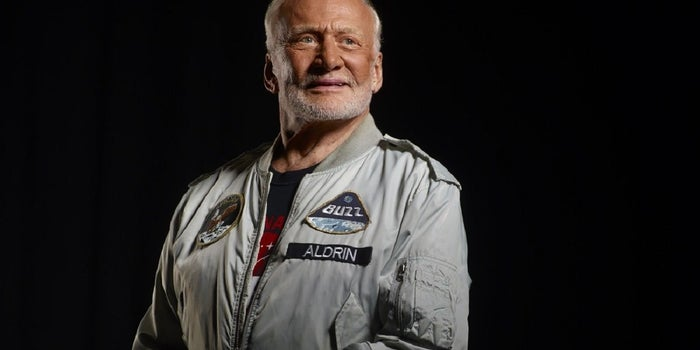 Buzz Aldrin Wants You to Know -- the Sky Is Not the Limit