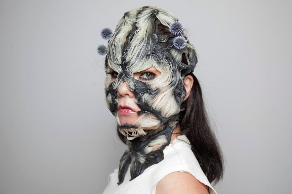 Check Out Björk's Amazing, Creative and Freaky Use of 3-D Printing