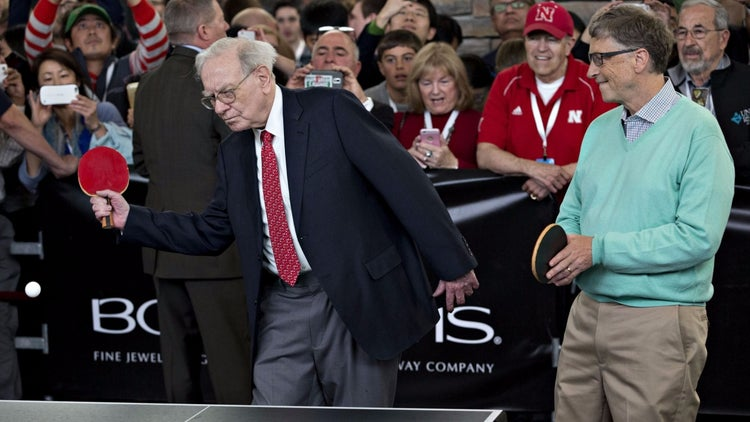 Bill Gates and Warren Buffett Celebrate 25 Years of Billionaire Bromance