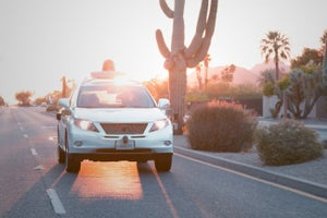 Google: Our Self-Driving Cars Are Nice to Cyclists