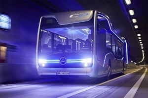 Mercedes Unveils a Slick Self-Driving Bus to Upgrade Your Commute