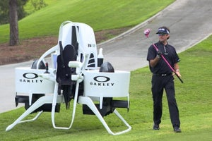 Check Out Bubba Watson's Crazy Golf Cart Jetpack
