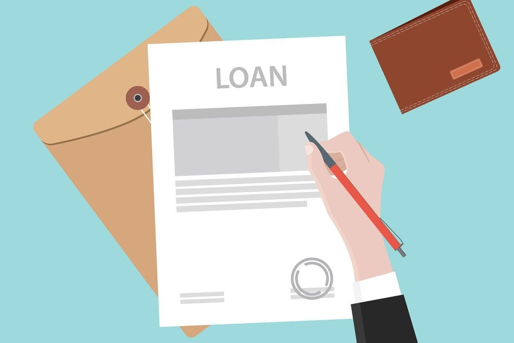 The loan pay-down