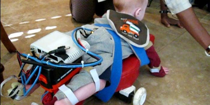 With Robotic Exoskeleton, Scientists Teach Kids to Crawl