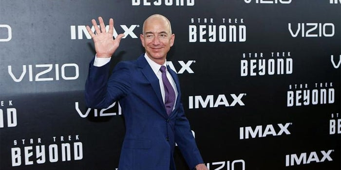 Bezos Passes Buffett to Become the World's Third-Richest Person