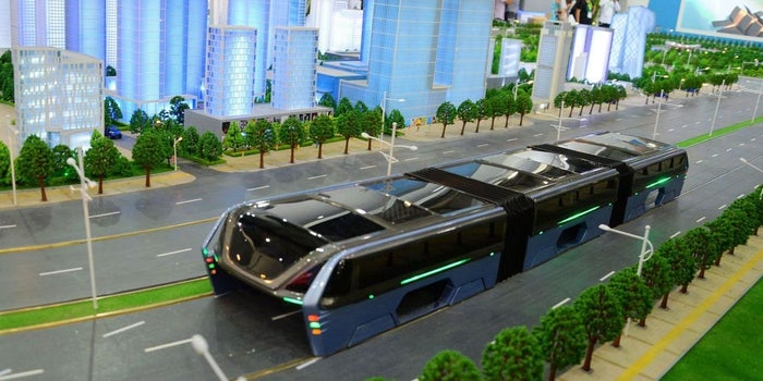 What Entrepreneurs Can Learn From China's Car-Swallowing Bus