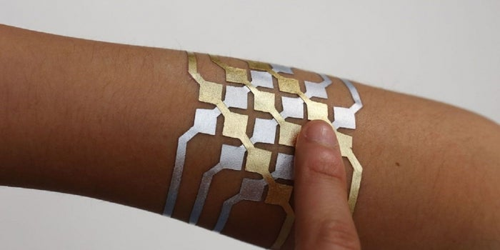 More Than Just Skin Art: MIT's Temporary Tattoo Would Let You Control Your Smartphone