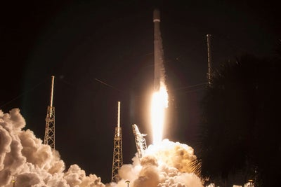 Elon Musk's SpaceX Launches Satellite, Lands Rocket Back on Drone Ship...