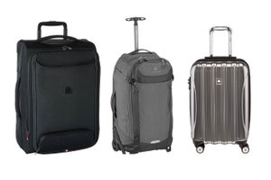 Attention Travelers: Up to 60 Percent off Carry-On Luggage, Backpacks and Spinners