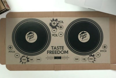 Pizza Hut Debuts Playable DJ Pizza Box