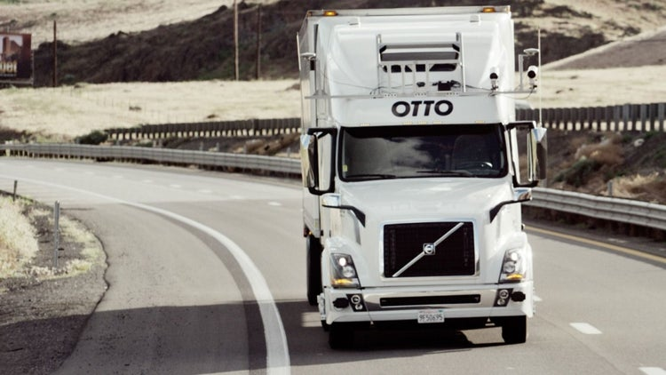 Uber-Owned Startup Otto Wants to Ship Your Stuff With a Truck That Drives Itself