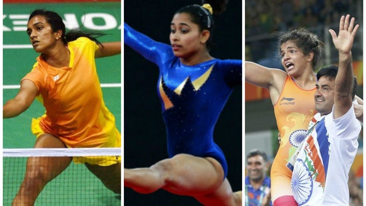 These Women Are Painting Rio Olympics With Tri-Colour