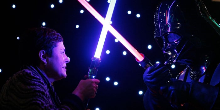 Your Next Trip to Disney Could End in a Real Lightsaber Fight