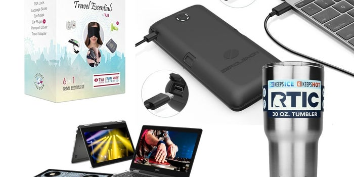 Save Big on This Portable USB Battery, 6-in-1 Travel Essentials Kit, and More