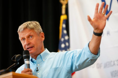 Libertarian Presidential Candidate Gary Johnson's 4 Tips for Succeeding in Business and Life