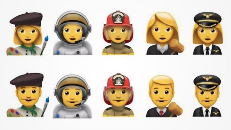 Apple Proposes 5 New Emoji Professions