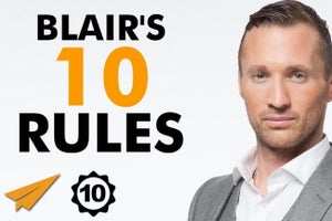 Ryan Blair's Top 10 Rules for Success