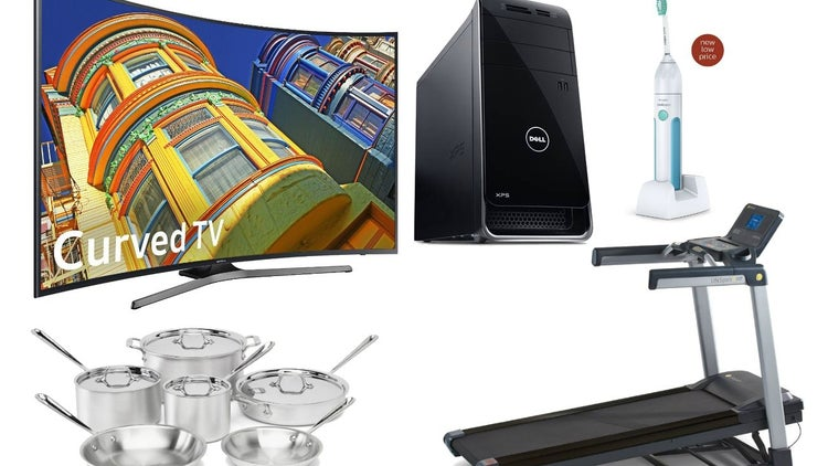 Save Big on This 55-Inch 4K Samsung Curved TV, Folding Treadmill and More