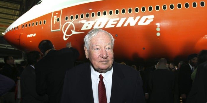 Joe Sutter, Father of the 747, Dies at 95