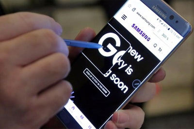 Non-Exploding Galaxy Note 7s to Arrive by Sept. 21