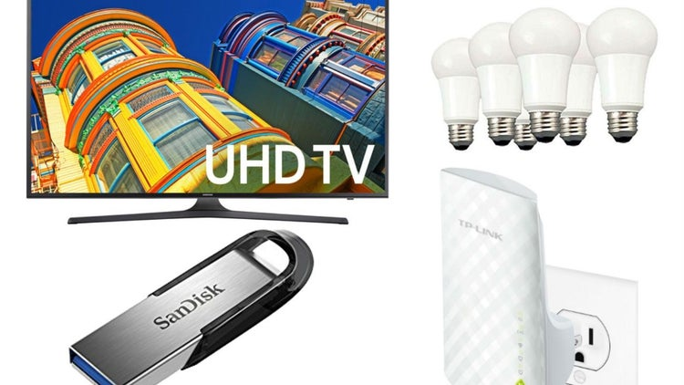 Terrific Savings on a 55-Inch Samsung Smart TV, TP-Link Wi-Fi Extender and More