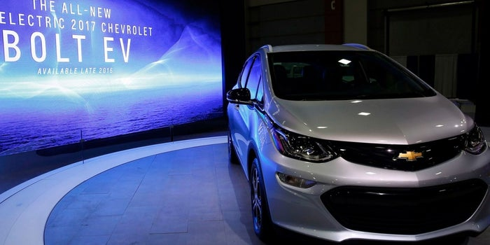 GM Sets Bolt Electric Car Price at $37,495