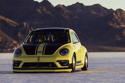 Volkswagen Modified a Beetle to Get Porsche-Like Speed