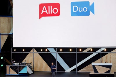 Google, Launching Allo, Bets on AI to Spice Up Chats