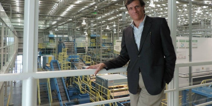 El mexicano que construyó la recicladora más importante en el mundo